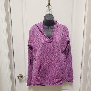 Tangerine hoodie active jacket Size XL Purple